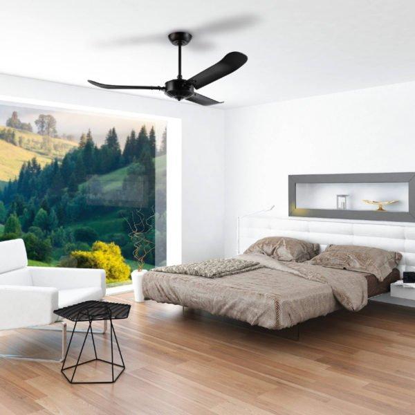 Black Eglo Hoi An 54 inch Ceiling Fan - 202756
