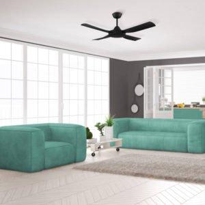 Eglo Bondi 48 inch Black Ceiling Fan - 203621