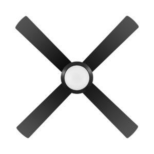 Eglo Bondi 52inch Black Ceiling Fan with LED Light - 203627