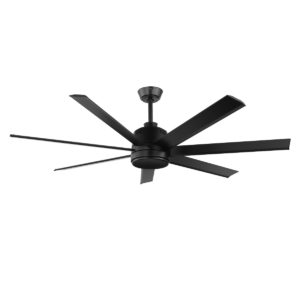 Matt Black Eglo Tourbillion 60 inch DC Ceiling Fan - 202964