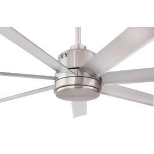 Silver Eglo Tourbillion 80 inch DC Ceiling Fan - 202965