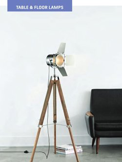 CLA Table and Floor Lamps