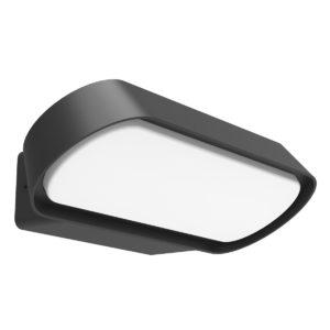 Glans Small Dark Grey Exterior 7 watt LED Surface Mount Wall Light