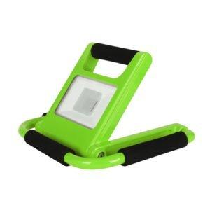 Mantis Portable Rechargeable Green LED 10 watt Floodlight