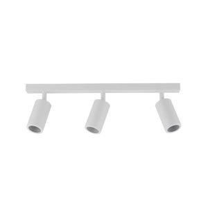 Three Adjustable GU10 Exterior Head Bar Light in White