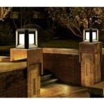 Rubik Exterior 20 Watt LED Wall / Floor Light in Matt Black