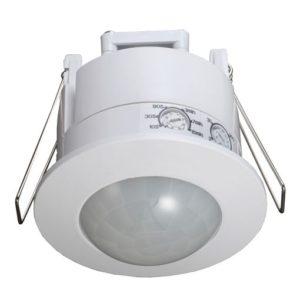 Sens 360 Degree IP65 Infrared Recessed Motion Sensor in White