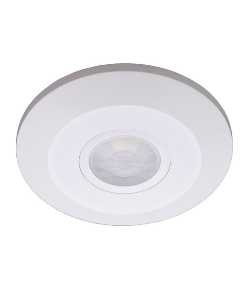 Sens 360 Degree IP20 Infrared Surface Mount Motion Sensor in White