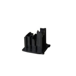 4 Wire 3 Circuit Dead End Cap for Track in Black