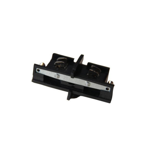 4 Wire 3 Circuit Track Connector in Black