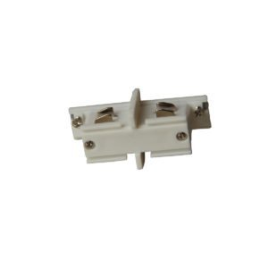 4 Wire 3 Circuit Track Connector in White