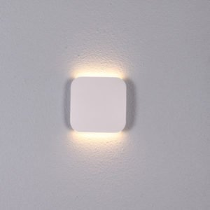Vox LED 9 Watt Exterior Surface Mount Up / Down Wall Light in White