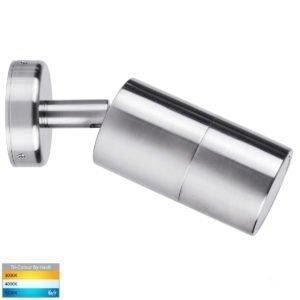 12v DC Tivah Single Adjustable Wall Pillar Light 316 Stainless Steel