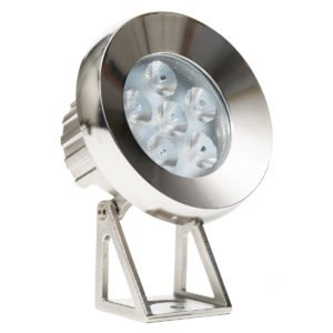 12v DC 15w LED Sotto Submersible Pond Light IP68 316 Stainless Steel in 3000K
