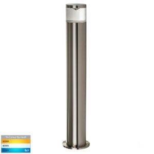 12v DC MR16 Highlite 316 Stainless Steel Bollard Light - 445mm