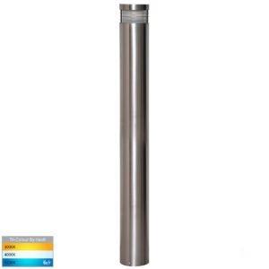 12v DC Maxi 900 Maxi Bollard Light Opal Diffuser 316 Stainless Steel - 900mm