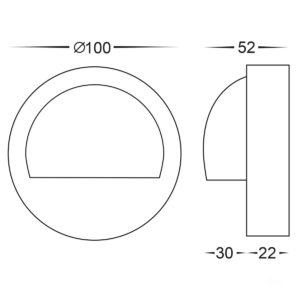 HV2904 - Dimensions