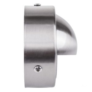 12v Pinta Surface Mounted Step Light with Large Eyelid 316 Stainless Steel - HV2907