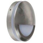 5w LED Nava Surface Mounted Step Light with Eyelid Titanium Aluminium