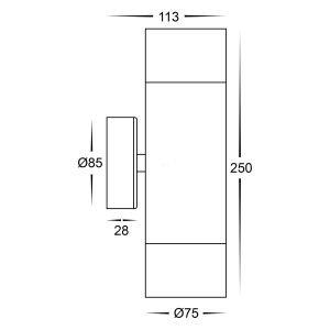 HV1028T Dimensions