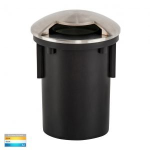 12v DC Viale MR16 Recessed Driveway Light in 316 Stainless Steel- HV19062T-SS316