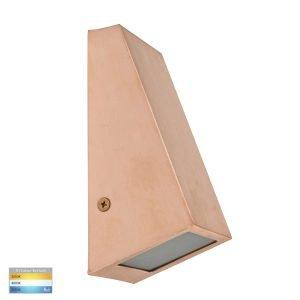 Taper Copper TRI Colour 12V MR16 LED Wedge Wall Light