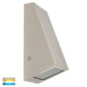 Taper 316 Stainless Steel TRI Colour 12V MR16 LED Wedge Wall Light