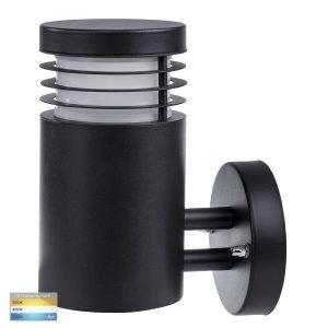 Mini 316 Stainless Steel Black Wall Light - HV3621T-BLK
