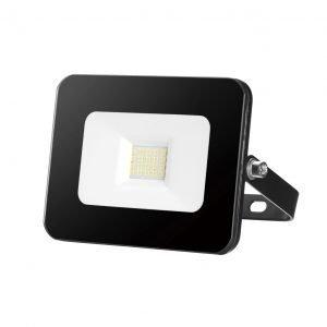 Aray Black 10w LED Flood Light