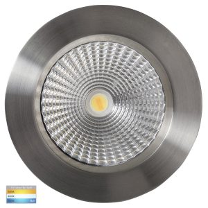 Ora 12W Dimmable CCT 316 Stainless Steel Round Recessed Downlight