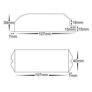 HV9106-LT-393-5A Dimensions