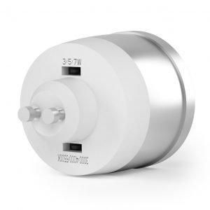 TRI- Colour 9in1 240v AC GU10 Dimmable LED Globe