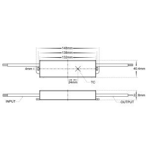 HV9652-24v Dimensions
