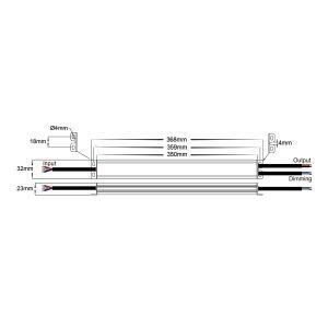 HV9661-150W Dimensions