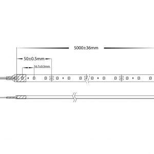 HV9733x-IP54-60-5m Dimensions