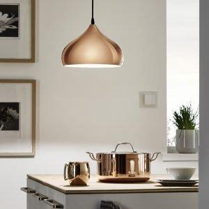 Hapton Dome Copper Pendant Light