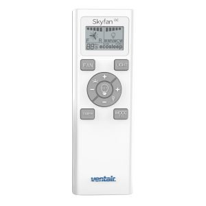 Skyfan DC With LIGHT Remote Control